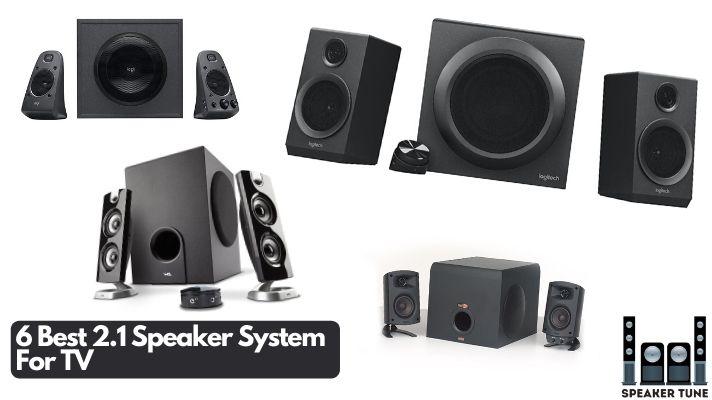 Best 2.1 speaker system for TV
