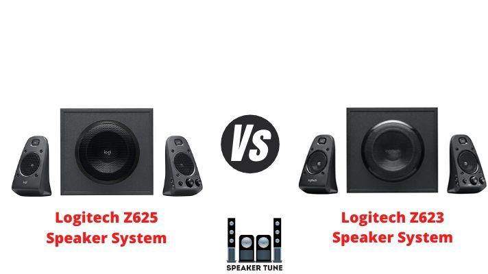 Logitech Z625 vs Z623