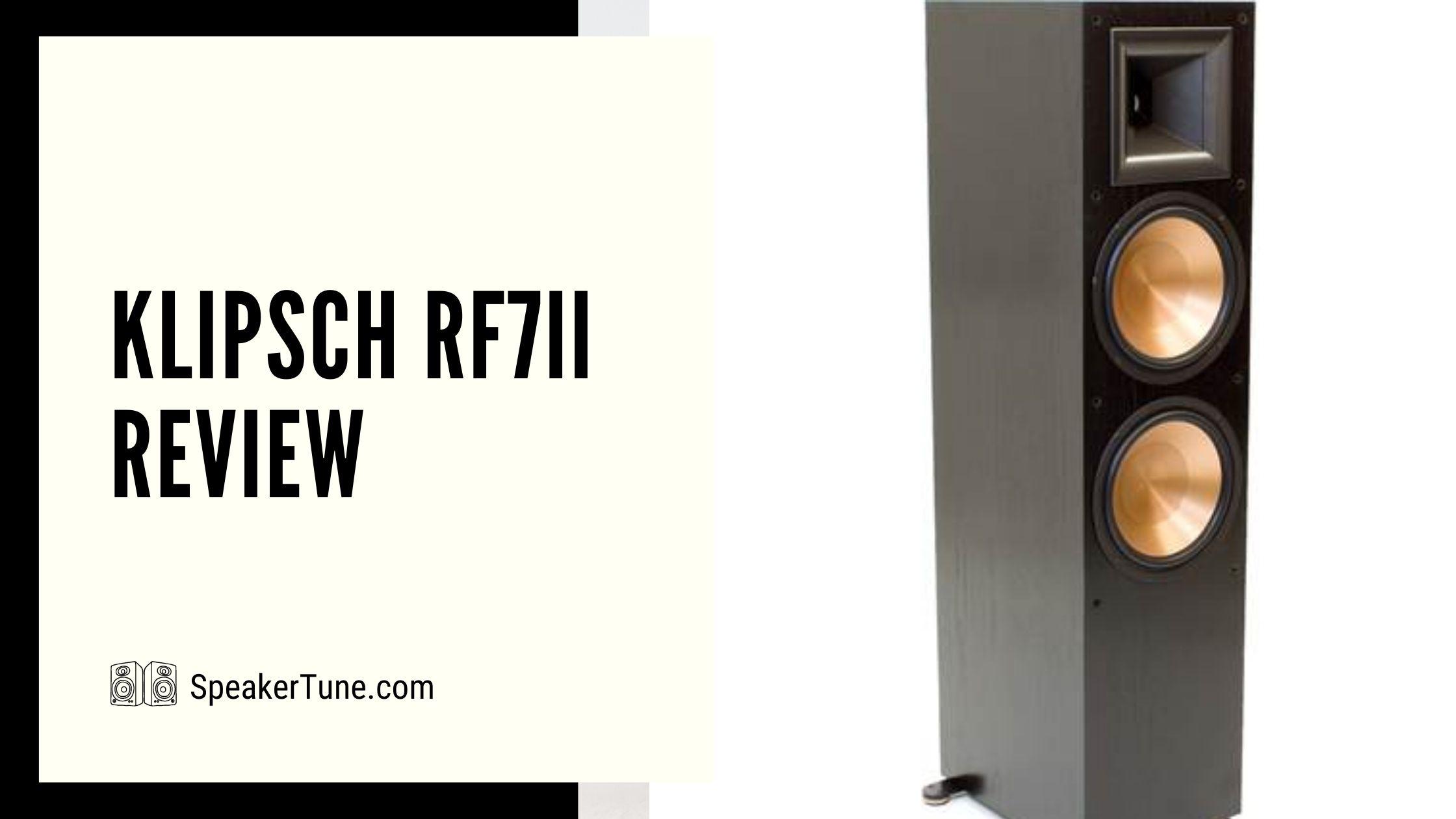 klipsch rf7ii review